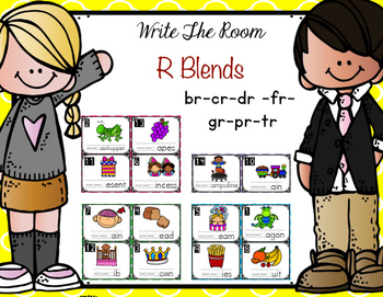 Write The Room - R Blends