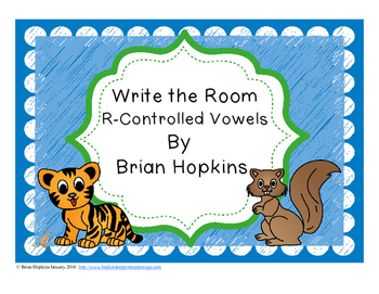 Write The Room R-Controlled Vowels