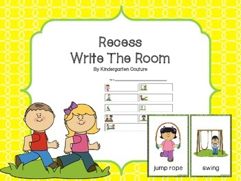 Write The Room -Recess