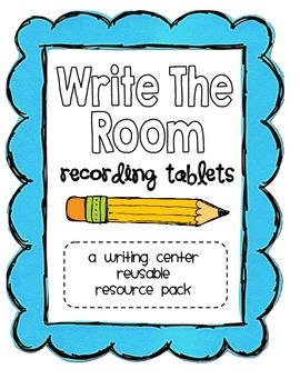 """Write The Room"" Recording Tablets Center Pack"