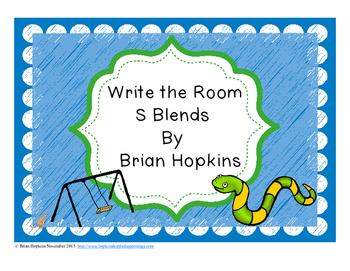 Write The Room S Blends