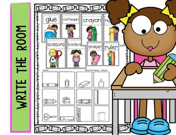 Write The Room - School Supplies
