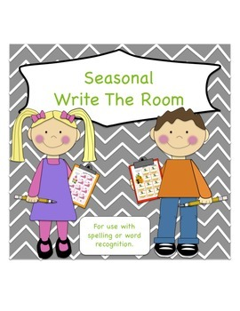 Write The Room - Seasonal Packet