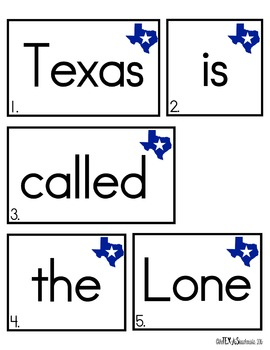 Write The Room: Secret Sentence Search {Texas Edition}
