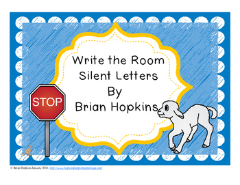 Write The Room Silent Letters