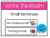 "Write The Room - ""Small"" Sentences"