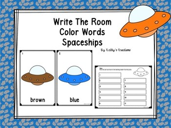 Write The Room Spaceship Colors  Dollar Deal