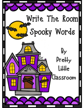 Write The Room Spooky Words