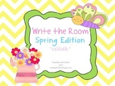 Write The Room - Spring Edition *editable*