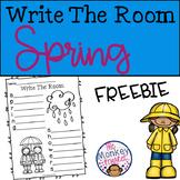 Write The Room Spring FREEBIE