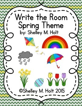 Write The Room - Spring Theme
