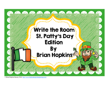 Write The Room St. Patrick's Day Beginning Sounds