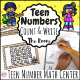 Teen Number Activity Write The Room