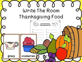 Write The Room Thanksgiving Food