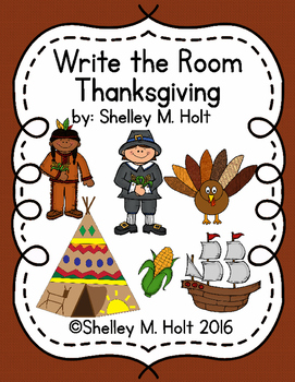 Write The Room - Thanksgiving Theme