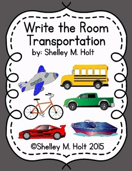 Write The Room - Transportation Theme