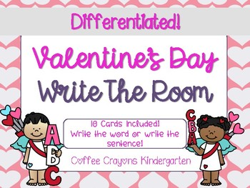Write The Room- Valentine's Day Theme (Differentiated)