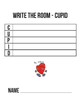 Write The Room - Valentines Day