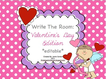 Write The Room - Valentine's Day Edition *editable*