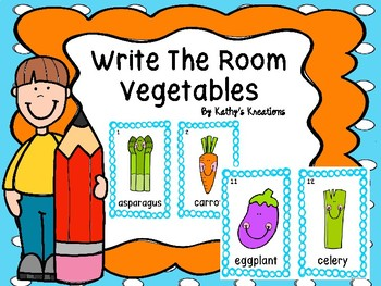 Write The Room Vegetables