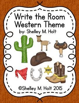 Write The Room - Western Theme