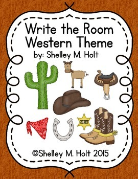 Write The Room - Western Theme