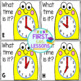 Write The Room: What Time Is It?  Time To The Hour And Half-Hour
