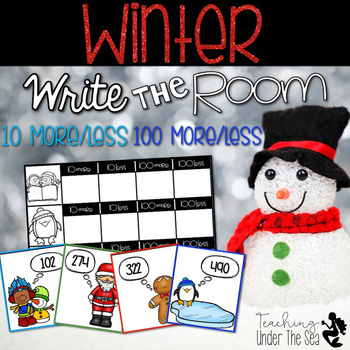 Write The Room Winter (10 More/Less 100 More/Less)