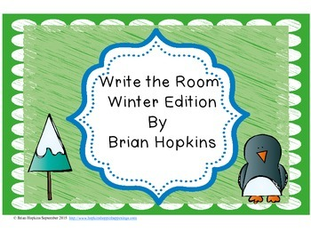 Write The Room Winter Beginning Sounds