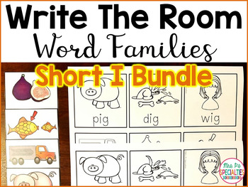 Write The Room Word Families: Short I edition