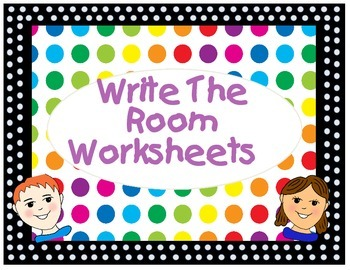 Write The Room Worksheets