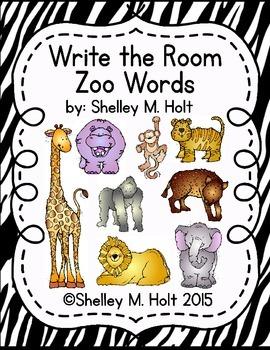Write The Room - Zoo Theme