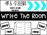Write The Room: -mp & -st blends