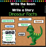 Write The Room to Write A Story About Dinosaur Facts