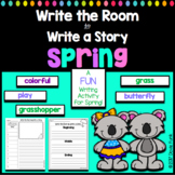 Write The Room to Write A Story - Spring Writing Activity