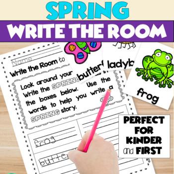 Spring Writing Activities Kindergarten Worksheets Tpt