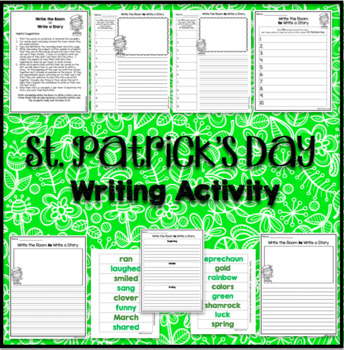 Write The Room Write A Story St. Patrick's Day - March Writing