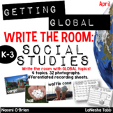 Write The Room with SOCIAL STUDIES- April