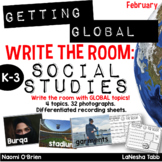 Write The Room with SOCIAL STUDIES- February
