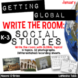 Write The Room with SOCIAL STUDIES- January