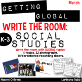 Write The Room with SOCIAL STUDIES- March
