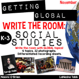 Write The Room with SOCIAL STUDIES- November