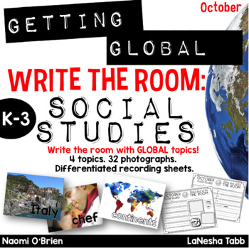 Write The Room with SOCIAL STUDIES- October