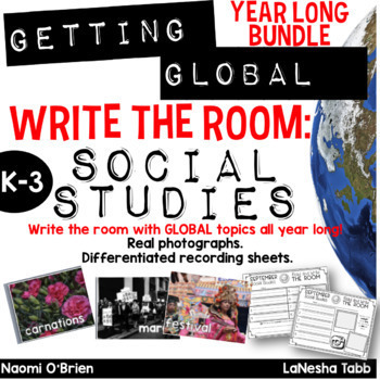 Write The Room with SOCIAL STUDIES Year Long Bundle!