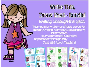 Write This, Draw That - Bundle!