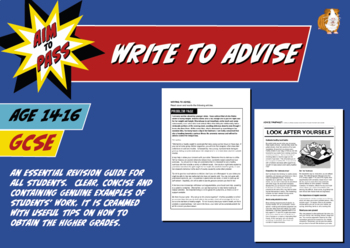 Write To Advise For GCSE English (14-16 years)