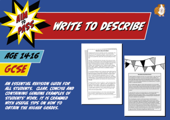 Write To Describe For GCSE English (14-16 years)