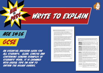 Write To Explain For GCSE English (14-16 years)