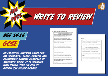 Write To Review For GCSE English (14-16 years)
