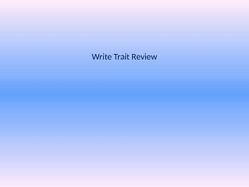 Write Trait Review
